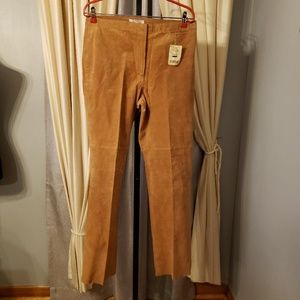 C&E Lifestyle  Genuine Suede/Leather  Lined Pants